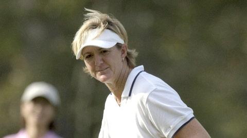Oldest golfer to win on LPGA Tour