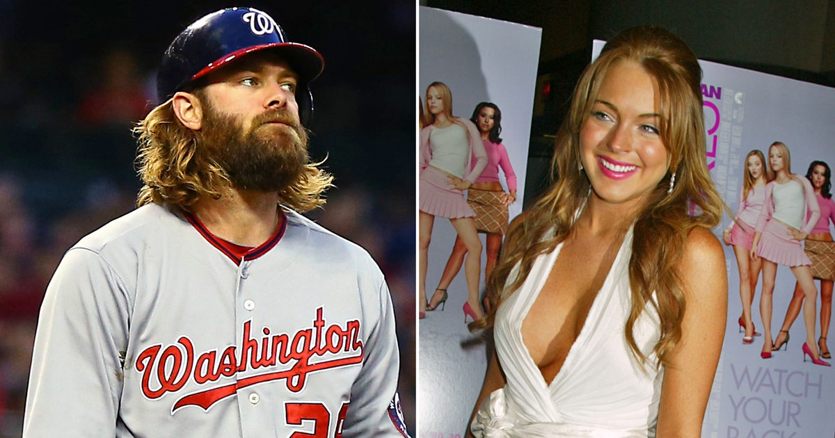 Nationals Werth Knows His Lindsay Lohan Movies Fox Sports
