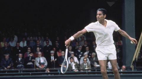 Oldest man to win a pro tennis tournament