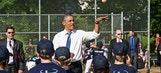 President Obama surprises Little Leaguers in Washington, D.C.