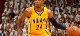 Pacer Paul George's best rookie memory? When his coach got fired
