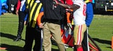 Jim Harbaugh's wife makes 'PSA' to #StopDadPants