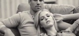 Eric Decker stars in steamy commercial with Victoria's Secret model