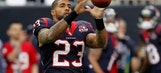 Arian Foster gave the most repetitive interview ever on Wednesday