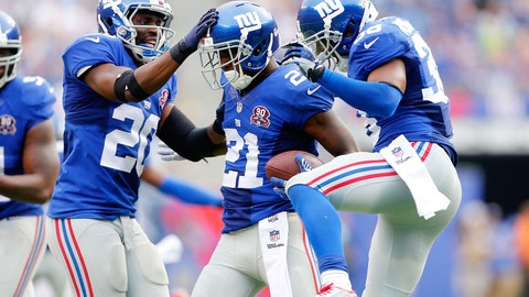 15. New York Giants