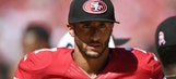 Colin Kaepernick's must-see reaction to having inappropriate language fine cut in half
