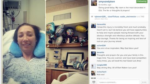Amy Van Dyken-Rouen (June 2014)