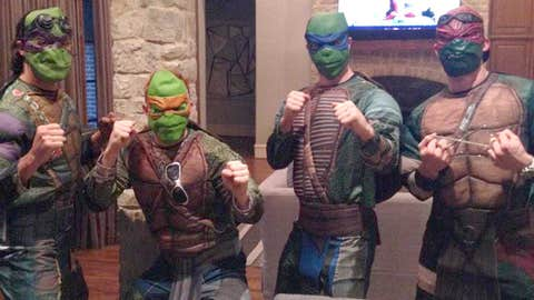 Dallas Stars Ninja Turtles