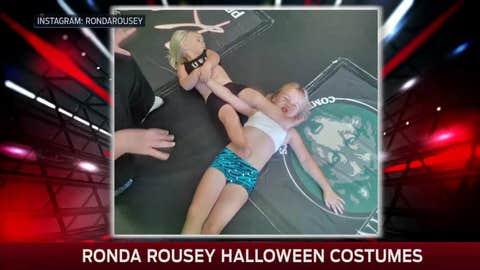 Little Ronda Rousey!