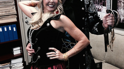 Bill Belichick and Linda Holliday