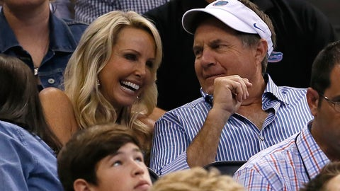 Bill Belichick's happier public moments