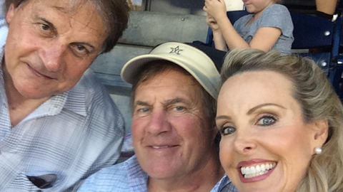 Bill Belichick's happier public moments