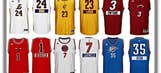 NBA's Christmas jerseys have players' first names on the back