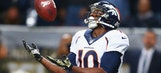 Despite Wikipedia claims, Emmanuel Sanders is alive and well