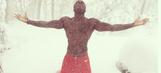 Snowpocalypse blasts Buffalo: One Bills player goes shirtless, many are stunned