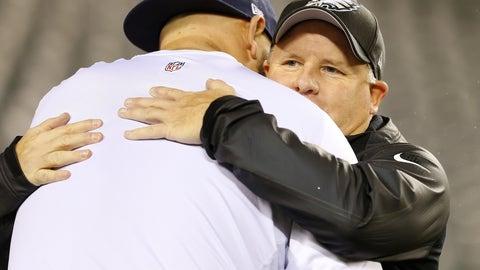 """Come here and give me a hug."""