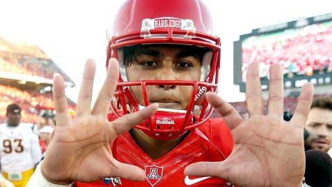College football: Anu Solomon, QB, Arizona Wildcats – age 19