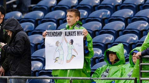 This Sounders fan has a point