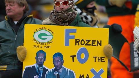 It was pretty darn cold