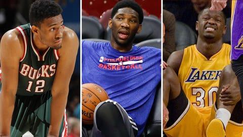 2014 NBA lottery picks