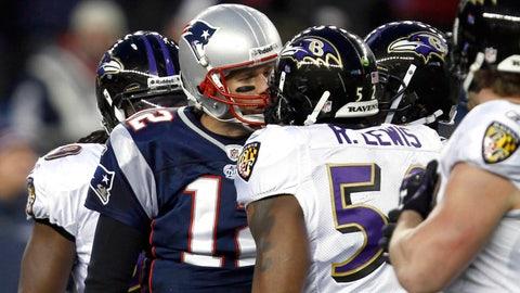 2011: Patriots 23, Ravens 20