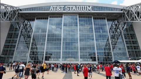 AT&T Stadium naming rights (one year): $18 million