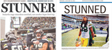 Double stunner: Newspaper covers after epic Seattle-Green Bay NFC championship game