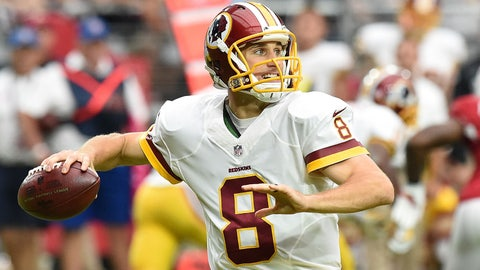 Kirk Cousins will be the top scoring QB