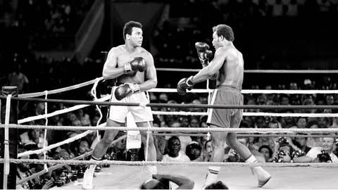 1974: Muhammad Ali wins Rumble in the Jungle