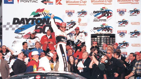 1998: Dale Earnhardt Sr. wins the Daytona 500
