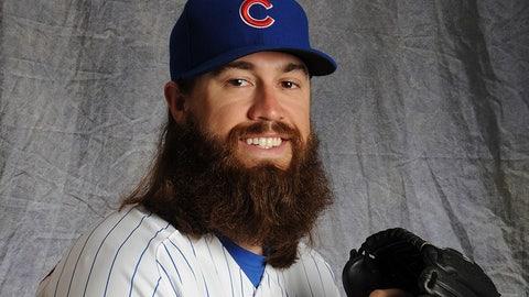 Cubs pitcher Brian Schlitter