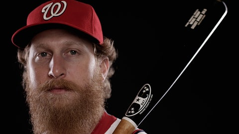 Nationals outfielder Mike Carp
