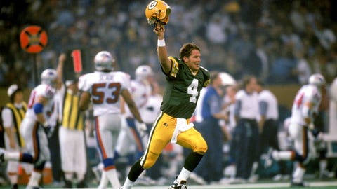 Green Bay Packers -- QB Brett Favre