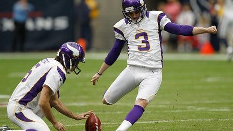 Vikings kicker Blair Walsh