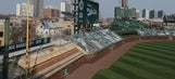 New-look Wrigley opens bleachers for first time this season