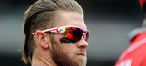 A year in the life of Bryce Harper's awesome hair