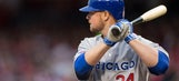 Cubs' Lester records first career hit