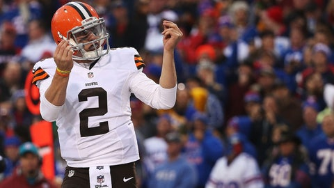 Cleveland Browns -- QB Johnny Manziel