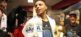 Stephen Curry offers up trolling trash talk before Warriors visit Cavs