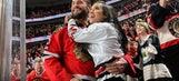 CM Punk has blast at Blackhawks' Stanley Cup parade