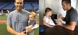 Rays' Longoria describes ups, down of being a baseball dad