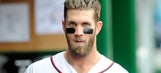 Bryce Harper sports a 'You Like That' shirt while working out