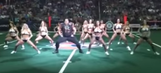 Watch: Apparent lineman crashes Arena League dance party, is absolutely fantastic