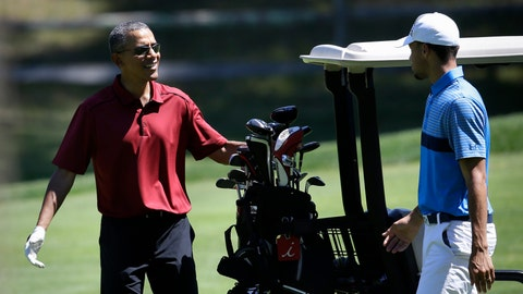 Aug. 14: No. 30 takes in 18 with POTUS