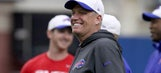Photo: Buffalo Bills coach Rex Ryan wears Clemson helmet to press conference