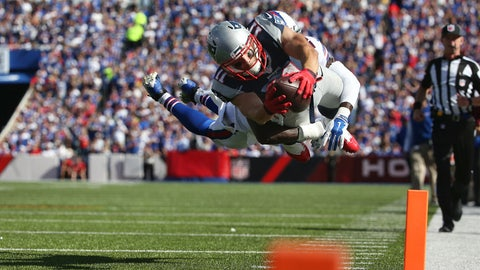 Top 10 plays of the Patriots' 2015 season