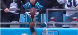 Young boy who received Cam Newton TD ball lost father a few weeks before (VIDEO)