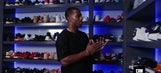 Victor Cruz has two sneaker closets; one just for his Jordans