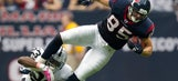 That's gotta hurt: Former Texans TE shares nasty photo of massive leg injury