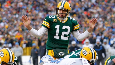 Detroit Lions at Green Bay Packers, 1 p.m. FOX (711)